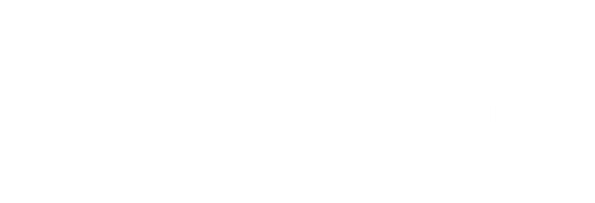 APSA Logo - Section on Politics and Religion Research