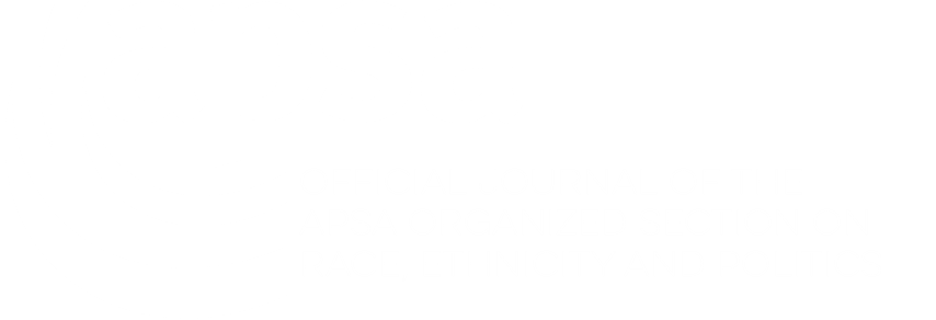 APSA Logo - Section on Race, Ethnicity and Politics