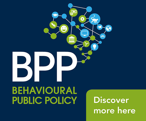 Behavioural Public Policy banner
