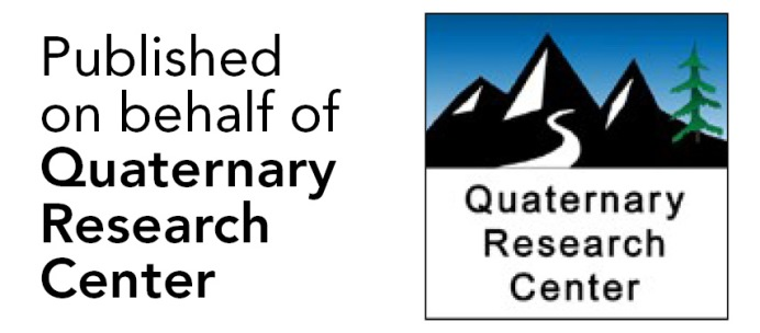 Published on behalf of the Quaternary Research Center