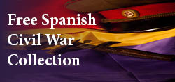 Spanish Civil War collection button