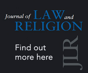 Journal of Law and Religion Core banner