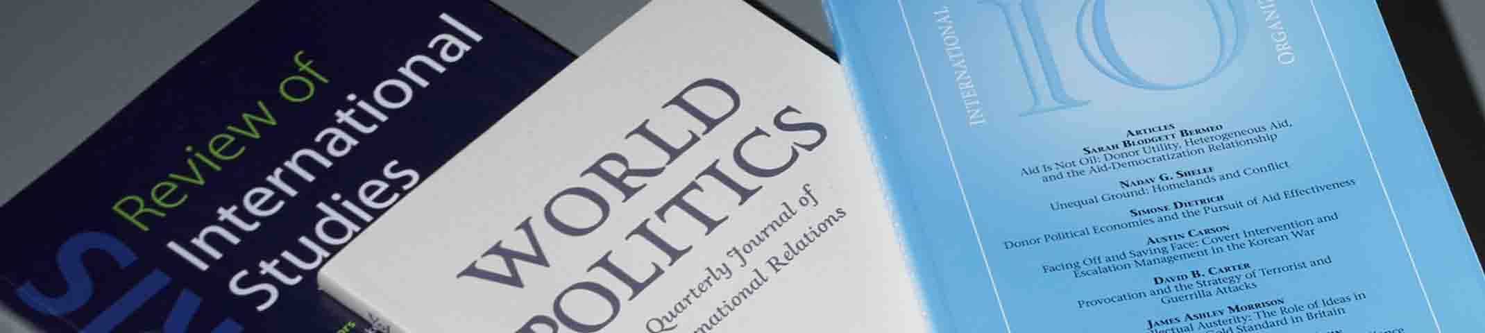International Relations journals