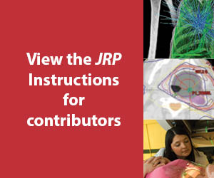 JRP Instructions for contributors