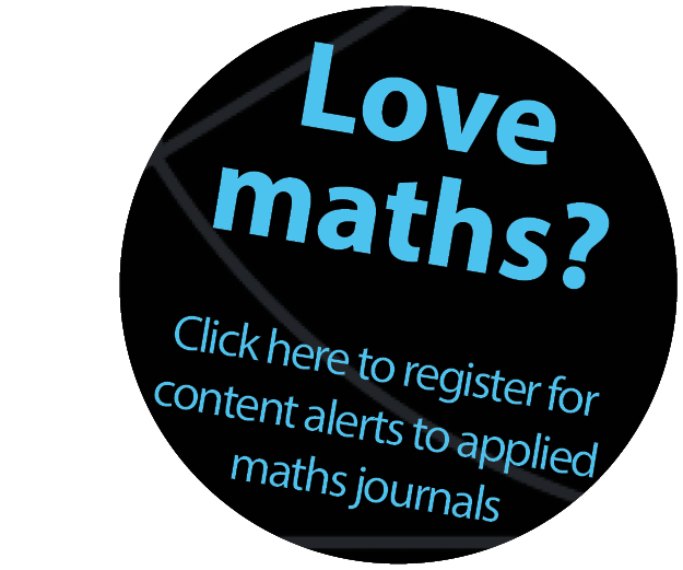 Applied maths etoc banner