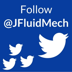 Follow @JFluidMech