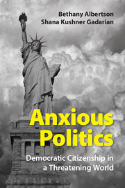 Anxious Politics - Democratic Citizenship in a Threatening World