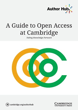 A Guide to Open Access at Cambridge cover