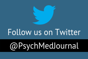 Psychological Medicine Twitter