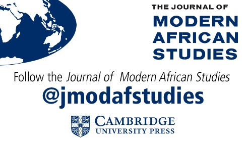 Journal of Modern African Studies Twitter