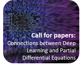 EJAM Deep Learning and Partial Differential Equations Special Issue