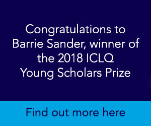 ICLQ 2018 Young Scholars Prize