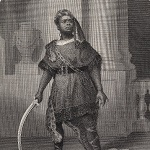 London Printing and Publishing Company, publisher. Mr. Ira Aldridge as Aaron [character in Shakespeare's] Titus Andronicus. London: between 1852 and 1853.