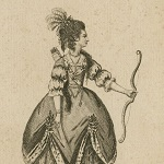Roberts James. Miss P. Hopkins in the character of Lavinia [graphic] : [in Shakespeare's Titus Andronicus]. 1776.