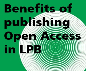 Benefits of publishing OA in LPB