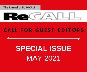 Call for Guest eds 2019