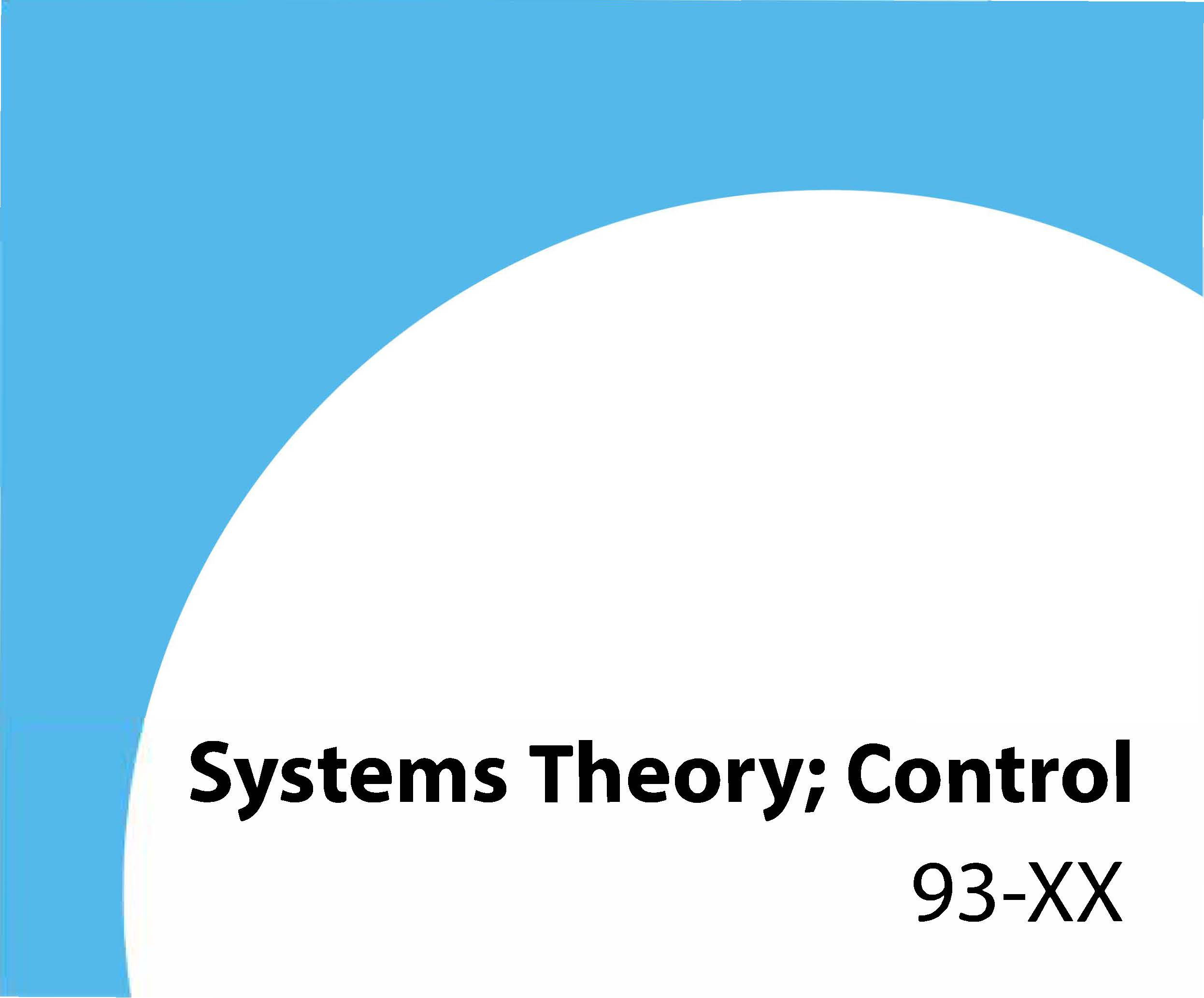 93-xx Systems theory; control