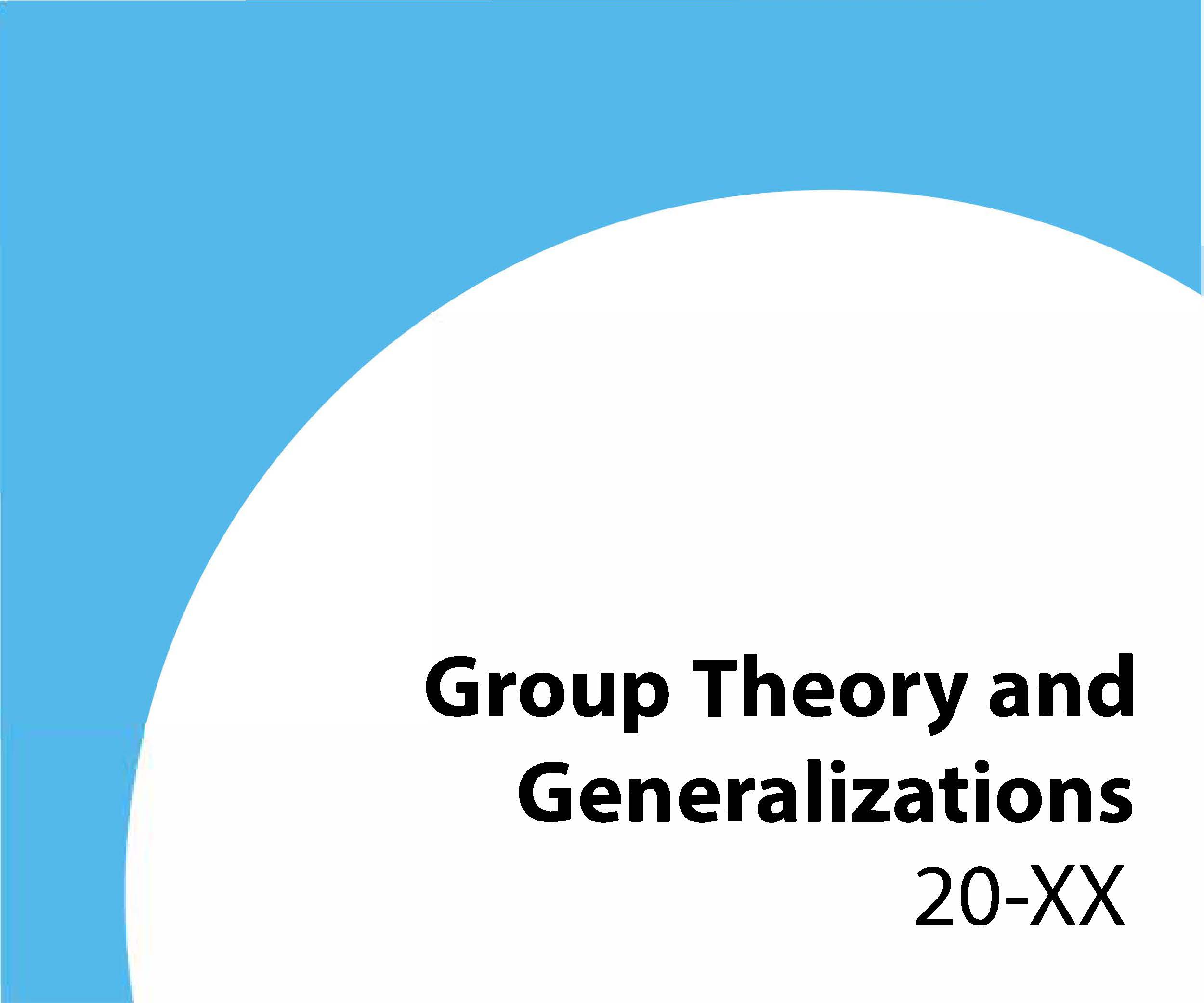 20-xx Group theory and generalizations