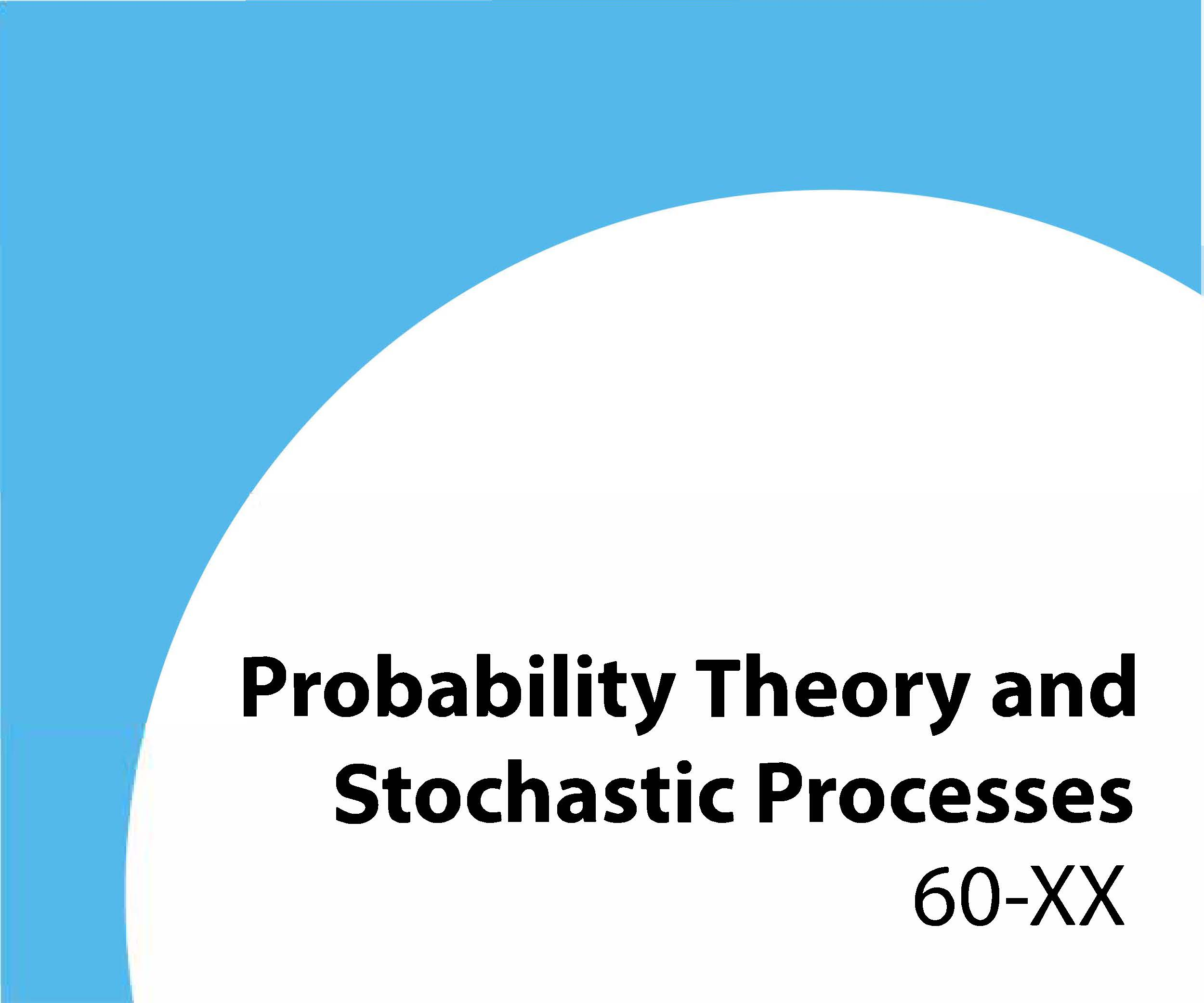 60-xx Probability theory and stochastic processes