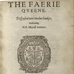 Spenser, Edmund. The faerie queene. Disposed into twelue bookes, fashioning XII. morall vertues. London: Printed [by Richard Field] for VVilliam Ponsonbie, 1596. - opens in new tab