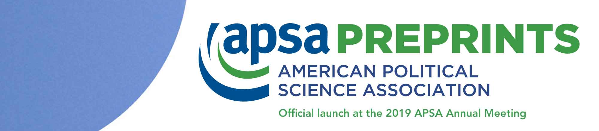 APSA Preprints launching