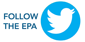 EPA follow on twitter