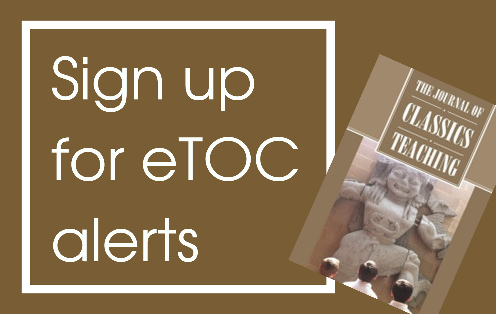 Sign up to receive eTOC alerts for JCT