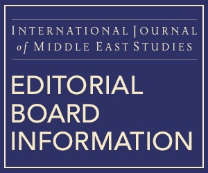 IJMES Editorial Board Information