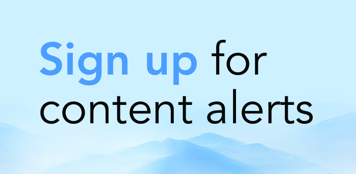 sign up for content alerts HOR