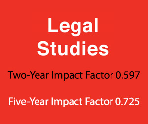 Legal Studies Impact Factor